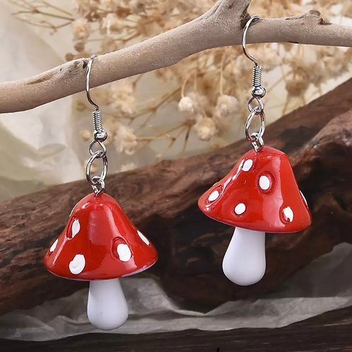 Shroom Earrings