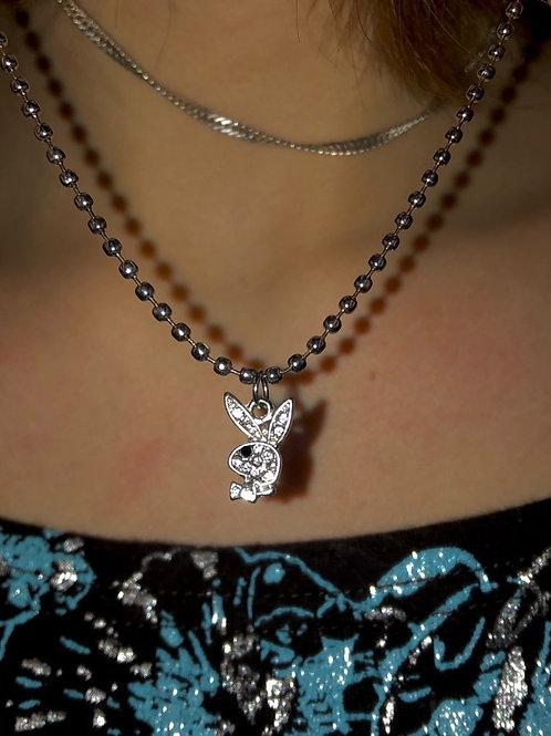 Bunny Crystal Chain