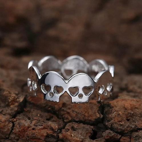 Valentine Skull Ring
