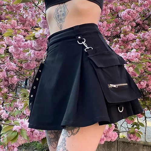 Gothic Pocket Skirt