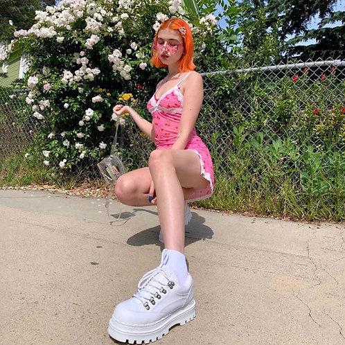 Cherry Slip Dress