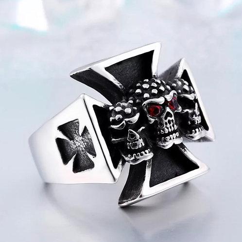 Skull Crest Ring