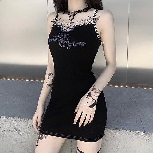 Leopard Strap Dress