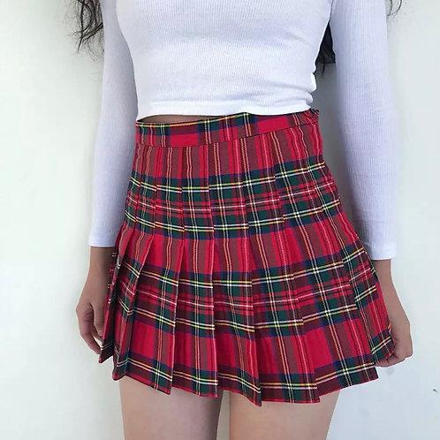 Strawberry Lipstick Sports Skirt