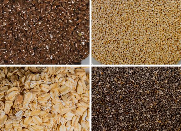 Mezcla Cereales y vida