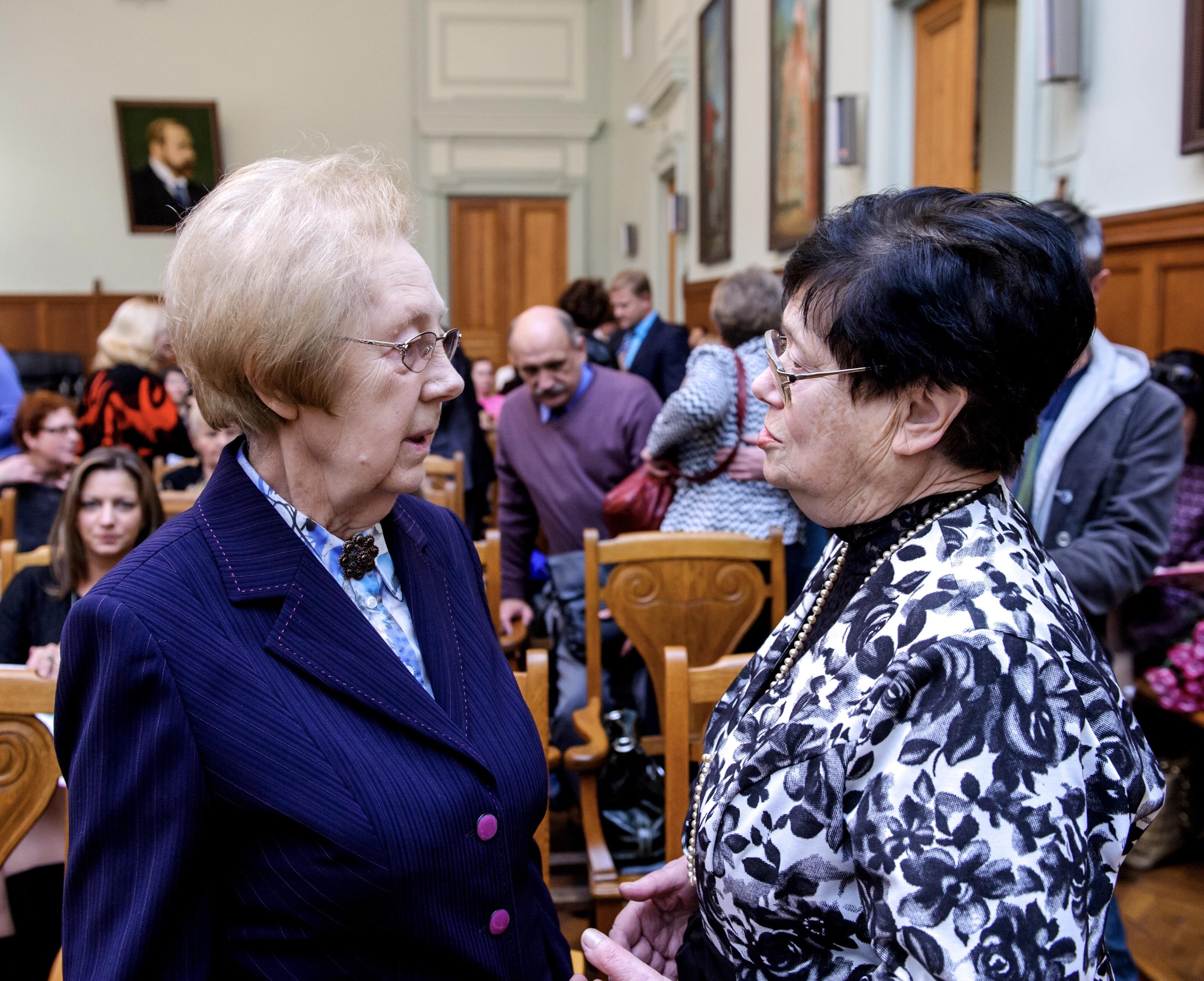 М.А. Репина и О.И. Иванова, 2015