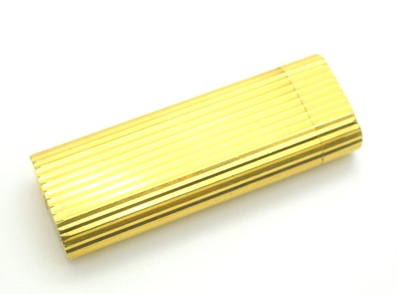 CARTIER Les Must De Cartier Yellow Gold Plated Lighter