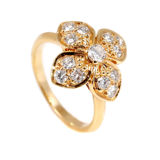 van-cleef-arpels-floral-diamond-gold-rin