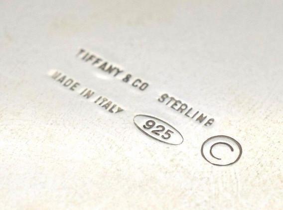 "Tiffany & Co.Vintage .925 Teddy Bear Stocking ""My First Christmas"" Ornament"