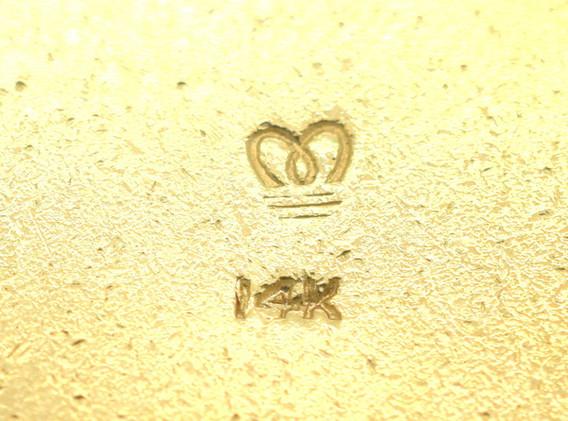 Estate Telephone Charm Sapphires Rubies & Pearls 14K Yellow Gold 14.5 Grams
