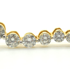 Diamond Journey Pendant 1.00 Tcw 14K Yellow Gold