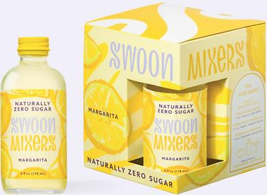Swoon Margarita 4-Pack Mix 4oz Bottles