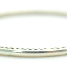 David Yurman .925 Sterling Silver Cable Bangle