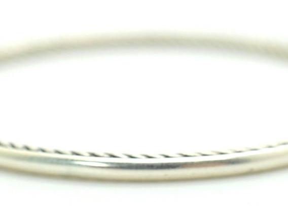 David Yurman .925 Sterling Silver Cable Bangle