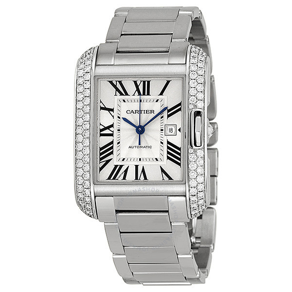 cartier-tank-anglaise-silver-dial-18kt-w