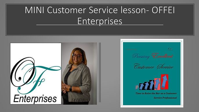 MINI Customer Service lesson- OFFEI Ente