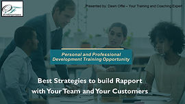 Best strategies to Build Rapport with Yo