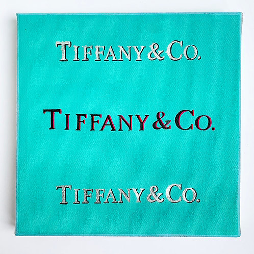 Tiffany - Fashion magazine on the wall