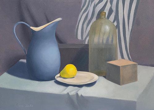 Still life with a lemon