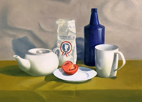 Still life with a tometo