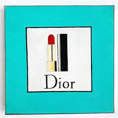 Dior - Fashion magazine on the wall