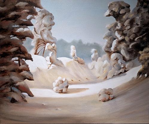 Copy of Arkhip Kuindzhi's work