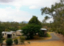 Mountain view from Park grounds