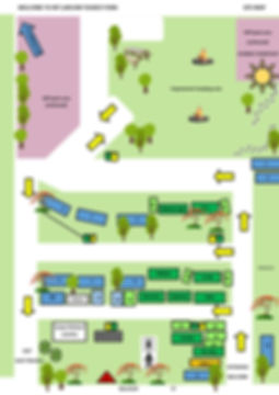 MAP SHOWING PARKING AND OFF LEASH AREAS