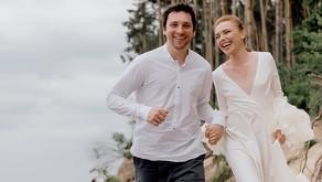 Sea & Forest Wedding Photoshoot