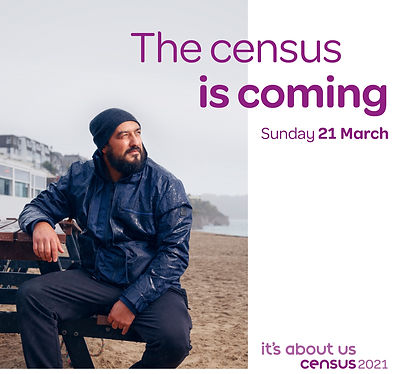 census is coming - Facebook and Instagra