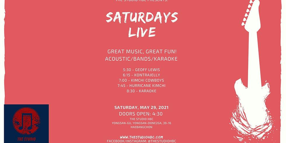 Saturdays Live Music