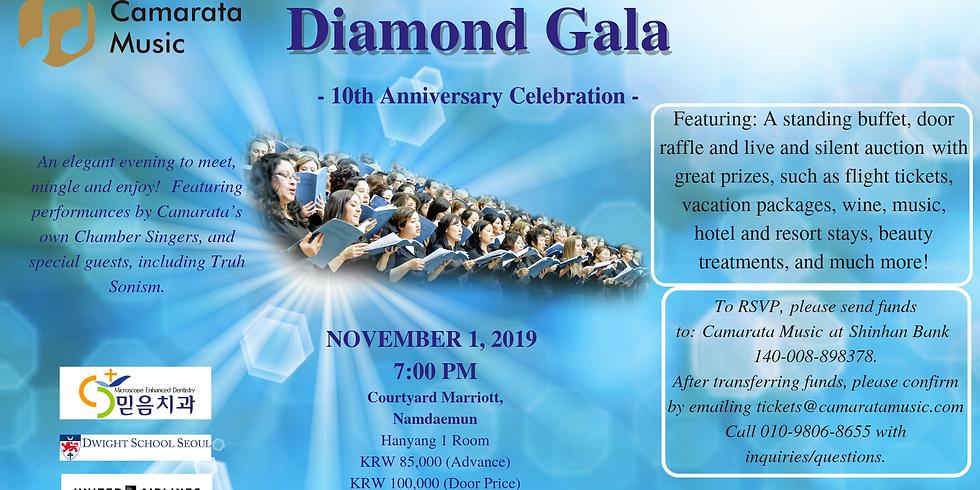DIAMOND GALA! Camarata's 10th Anniversary Event!