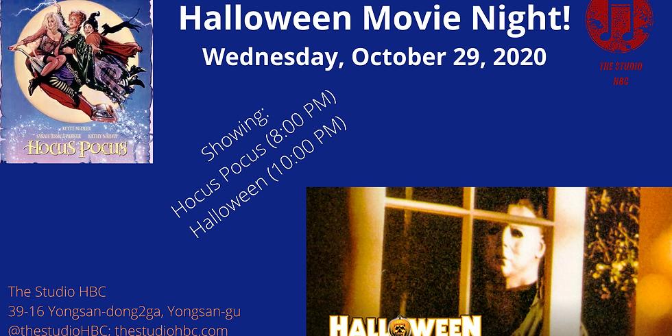 Halloween Movie Night!