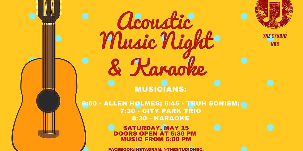 Acoustic Night and Karaoke