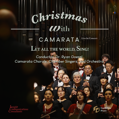 Christmas with Camarata, 2018, Let All the World, Sing!