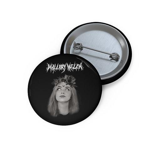Mallory Welch Black Metal Pin