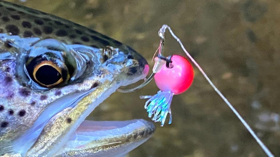 Jigga bead freeballer pinkish 10mm