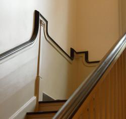 Stair wainscotting