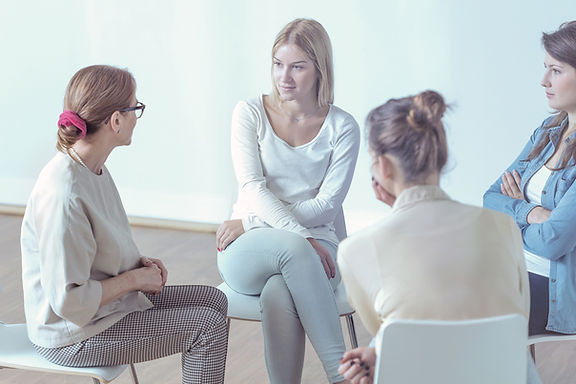 Group Psychological Therapy Session