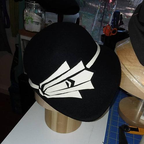 Phryne Wool Felt Hat Deposit