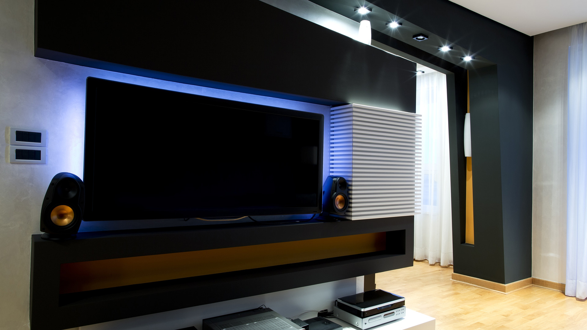 Large Television