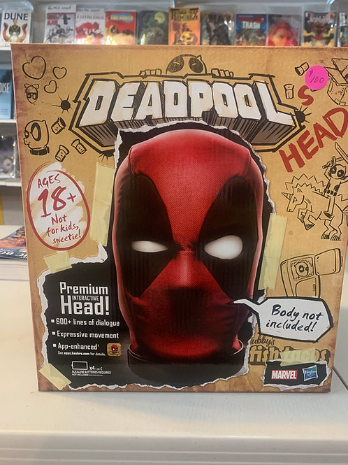 Deadpool's Premium Interactive Head!