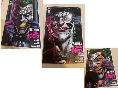 Batman Three Jokers #2 Premium Variant Cover Bundle