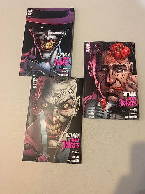 Batman Three Jokers #3 Premium Variant Cover Bundle