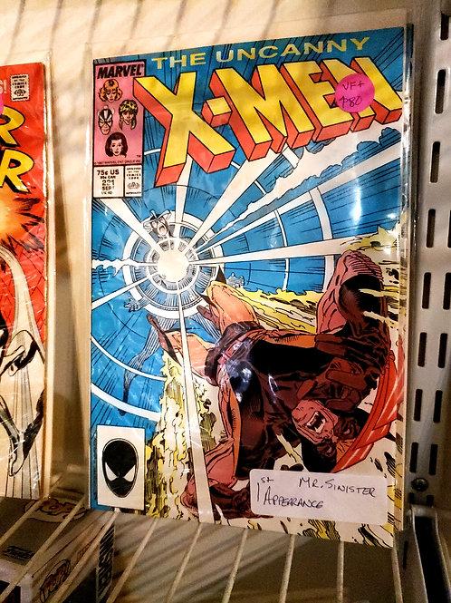 Uncanny X-Men #221 (VF+, 8.5)