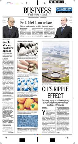 Oil's ripple effect