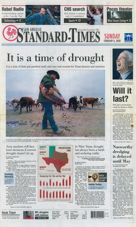 A time of drought