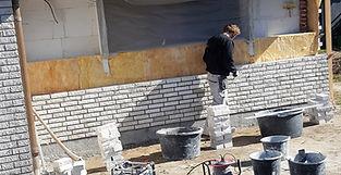 Opmuring med mursten