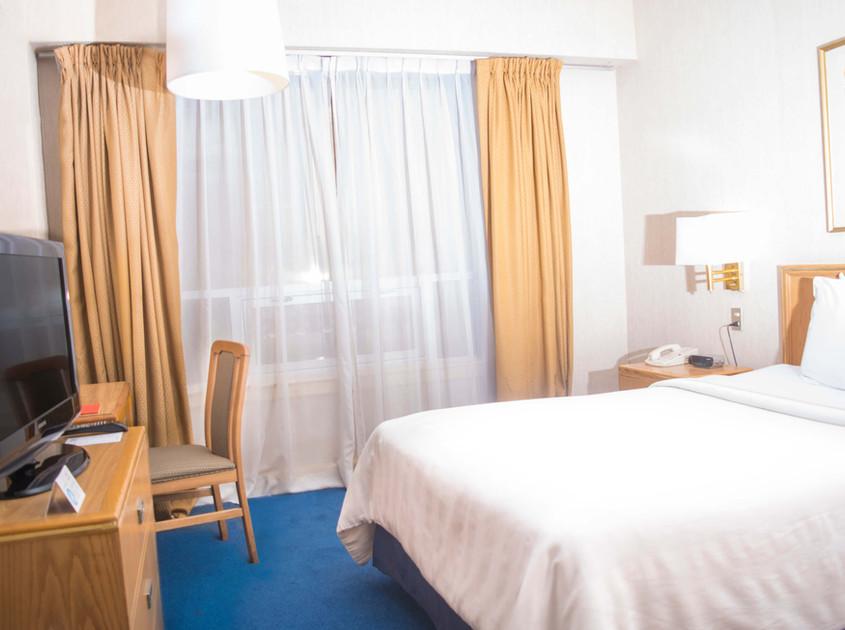 Habitacion del Hotel Travohotel en monterrey