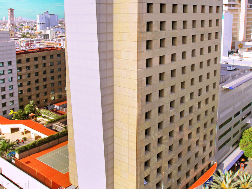 Fachada iStay Monterrey